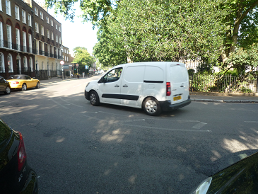 We need to access Canonbury Square safely